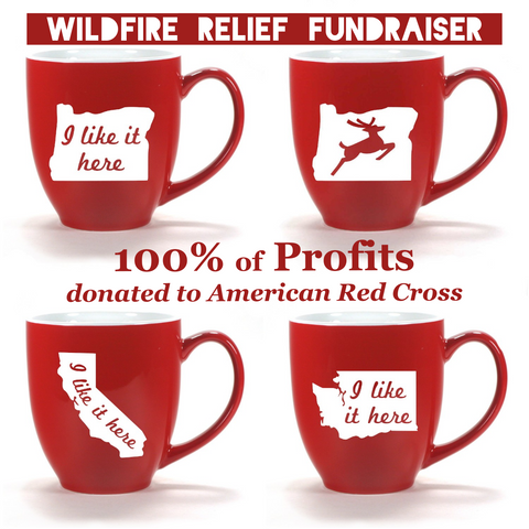 Wildfire Relief Fundraiser: 100% of Profits to Red Cross