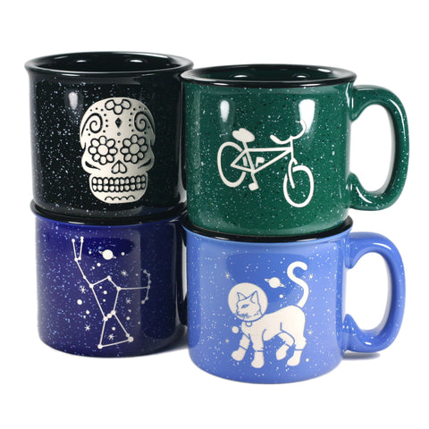 ceramic camp mugs
