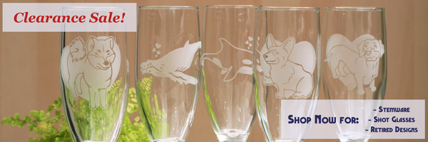 Stemware & Shot Glass Blowout Sale