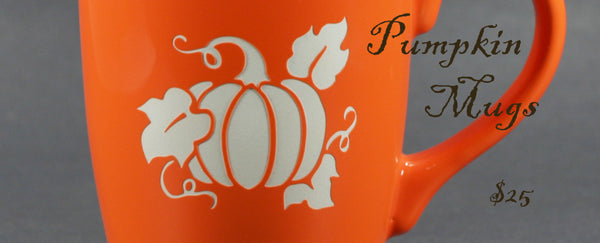 New Pumpkin Mugs