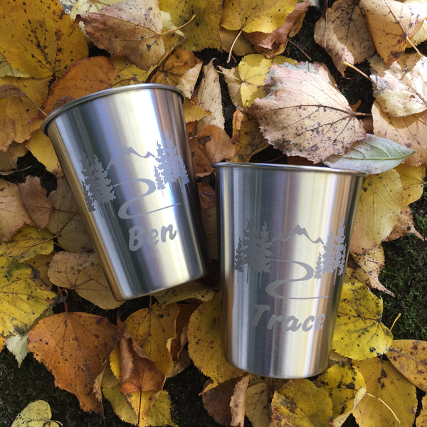 custom stainless cups