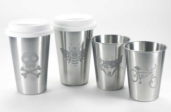 Stainless tumbler options