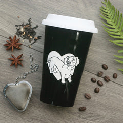 Dachshund Dog Travel Mug (Retired)