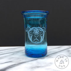 Blown Recycled Glass Tumbler