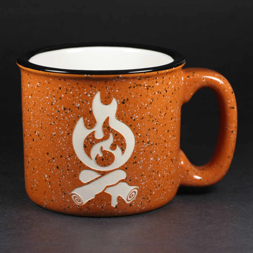 Campfire mug in rust by Bread and Badger