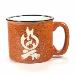 Campfire camp mug in rust by Bread and Badger