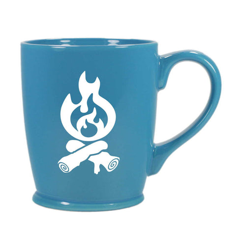 Campfire mug in sky blue by Bread and Badger