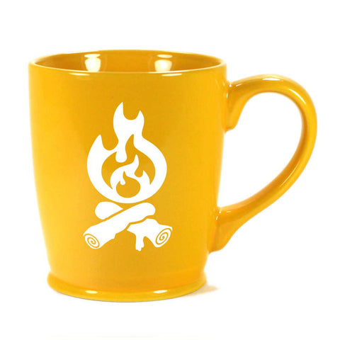 Campfire mug in yellow by Bread and Badger