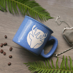 Deer Mug - Engraved Ceramic