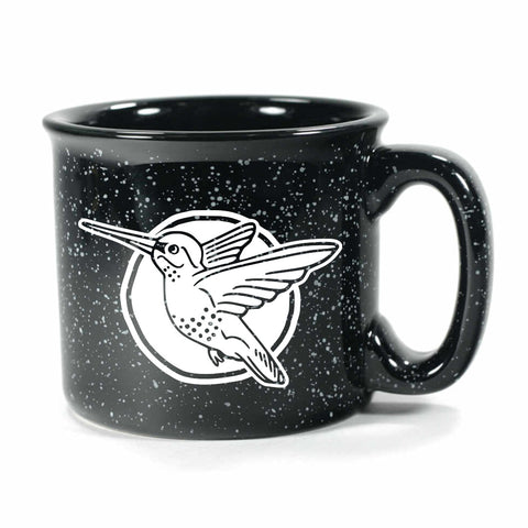 Hummingbird mug in Camp Black by Bread and Badger