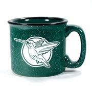 Hummingbird mug in Camp Forest Green by Bread and Badger