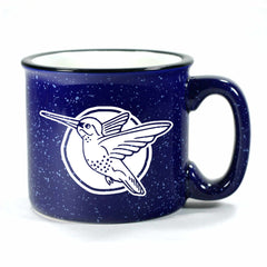 Hummingbird mug in Camp Navy Blue by Bread and Badger