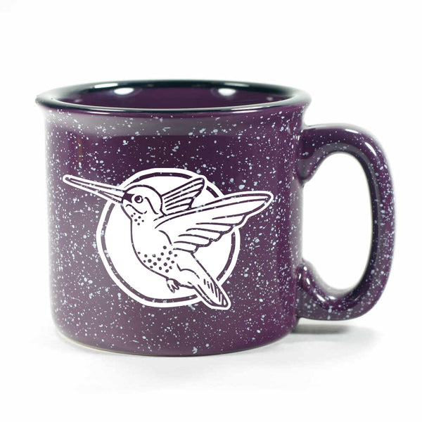 Hummingbird mug in Camp Purple by Bread and Badger