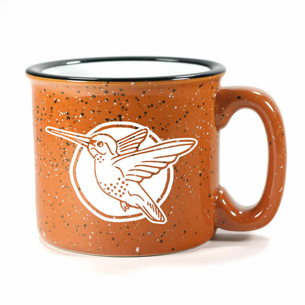 Hummingbird mug in Camp Rust by Bread and Badger