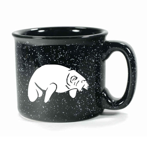 Camp Black manatee mug by Bread and Badger