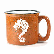 Rust Pangolin camp mug by Bread and Badger