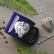 Shiba Inu Dog Mug with Handle - Engraving is Dishwasher-Safe, Microwave-Safe