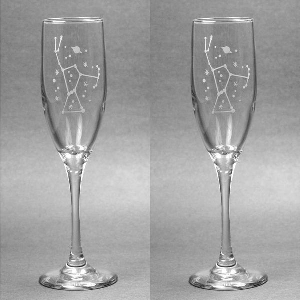 Orion Champagne Toasting Flutes Set of 2