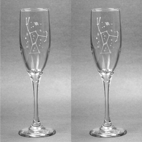 Orion Constellation Champagne Flute (Retired)