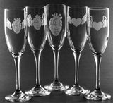 Winged heart flutes by Bread and Badger