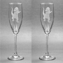 T-Rex Champagne Flute (Retired)