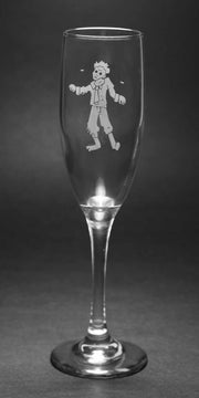 Zombie Champagne Flute (Retired)