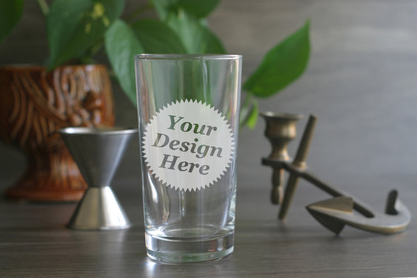 custom engraved highball glasses