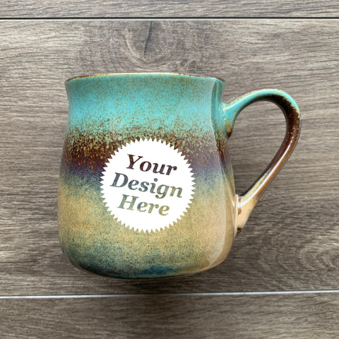 Rustic Mug in Lakeshore Teal