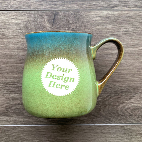 Rustic Mug in Meadow Blue-Green