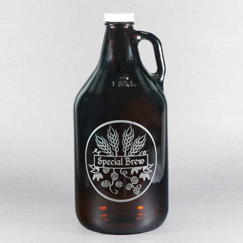 special brew homebrew beer growler
