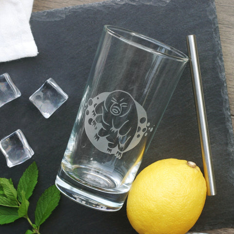 Tardigrade (Water Bear) Cocktail Glass