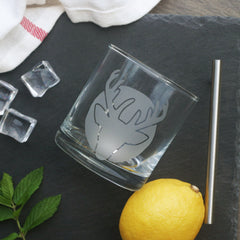 Deer Cocktail Glass (Retired)