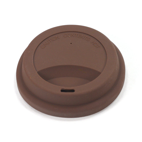 replacement brown silicone travel mug lid