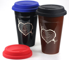 replacement silicone travel mug lids