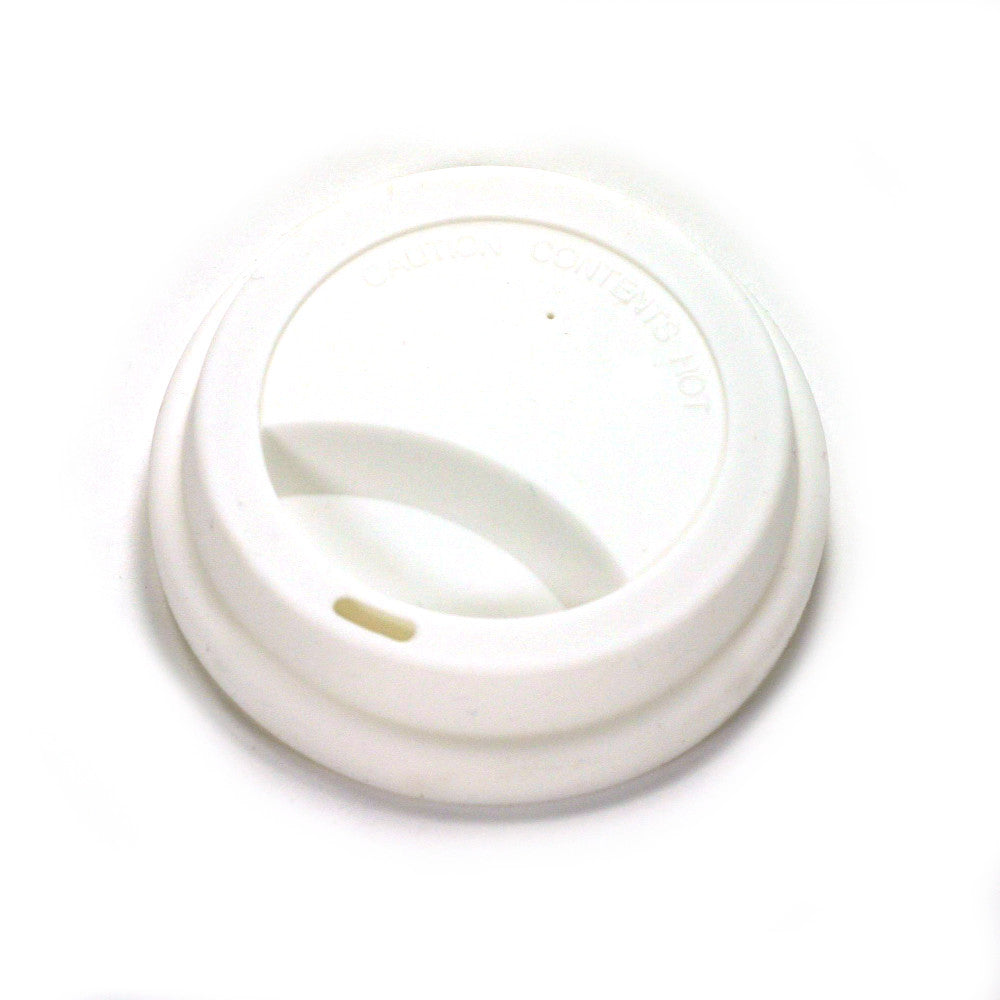 replacement white silicone travel mug lid