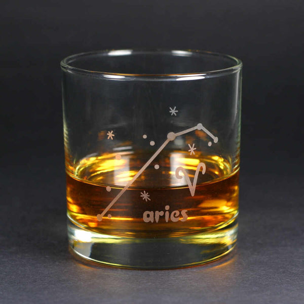 aries lowball glass by Bread and Badger
