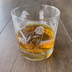Bald Eagle Cocktail Glass