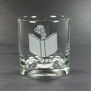 Bookworm Lowball Glass (Retired)