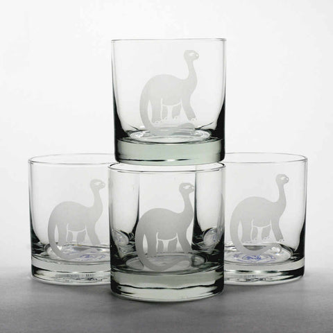 Brontosaurus Lowball Glass (Retired)