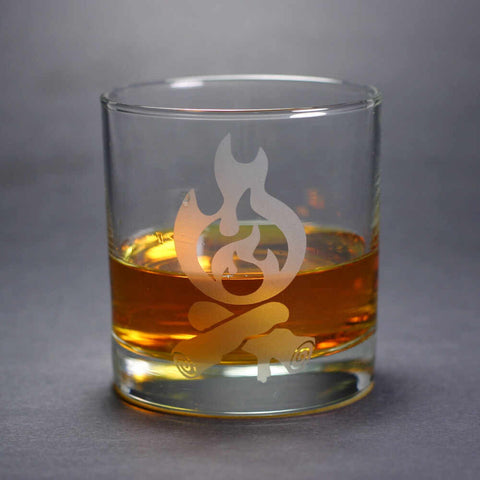 Campfire Lowball Glass