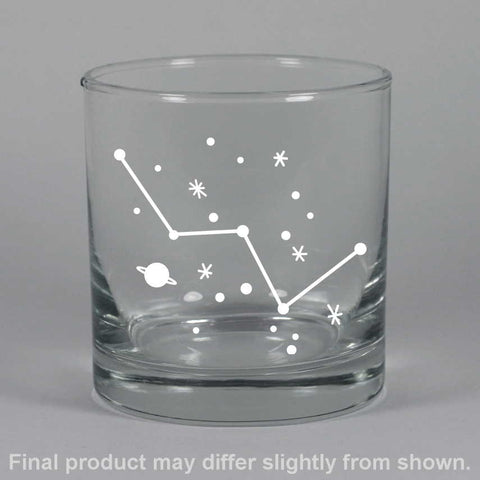 Cassiopeia Constellation Lowball Glass (Retired)