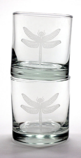 Dragonfly cocktail glasses