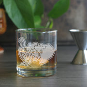 Elephant Lowball Cocktail Glass (LE)