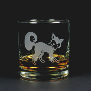 fox lowball glass