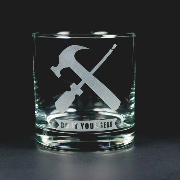 Do it Yourself scotch whiskey glass