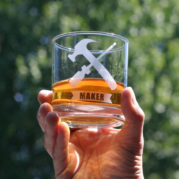 MAKER Handyman scotch whisky glass