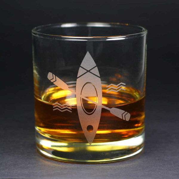 Kayak whiskey glass