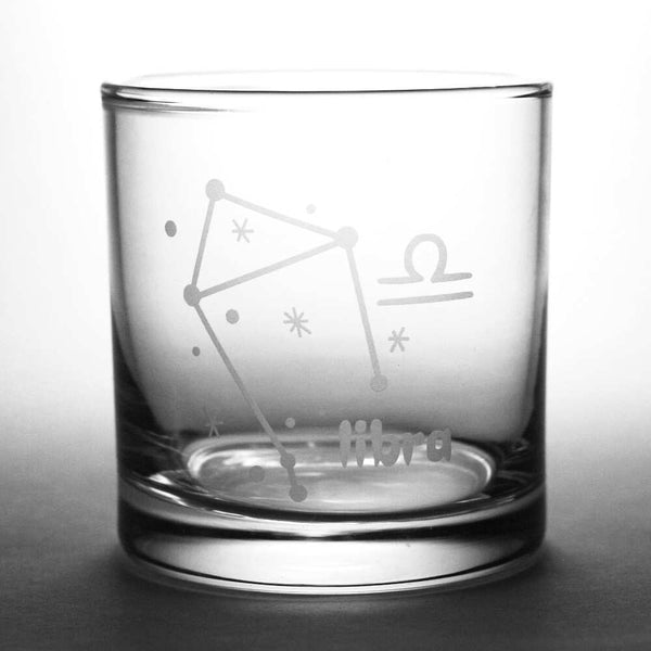 libra lowball glass by Bread and Badger