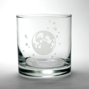 Moon and Stars Lowball Glass by Bread and Badger