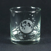 Full Moon Lowball Glass by Bread and Badger